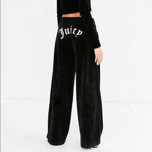 Juicy Couture x UO Wide Leg Velour Pants